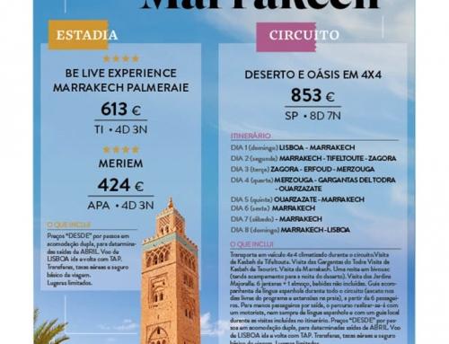 Descubra Marrakech